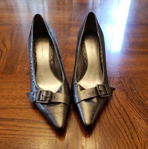 Silver Bandolino Heels